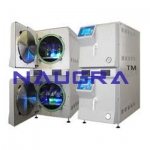 Autoclave Double Chamber Laboratory Equipments Supplies
